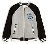 True Religion Toddler/Little Kids Embroidered Varsity Jacket