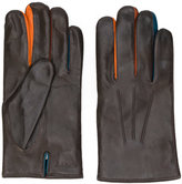 Paul Smith classic fitted gloves - men - Lamb Skin/Wool - L