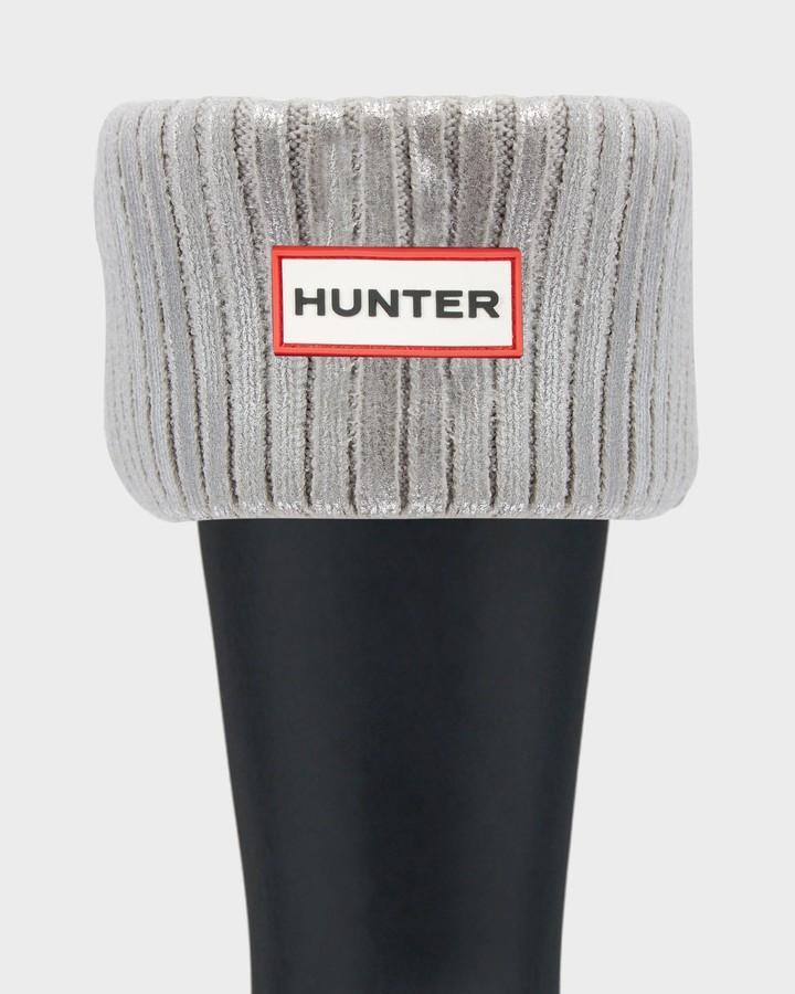Thumbnail for your product : Hunter Original Ribbed Foiled Short Boot Socks