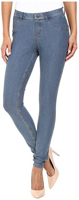 Hue Essential Denim Leggings (Deep Indigo Wash) Women's Jeans