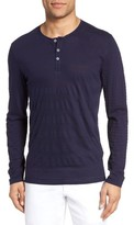 Zachary Prell Men's Redwood Pima Cotton Henley