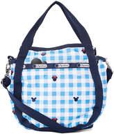 Le Sport Sac Mickey Mouse Checks & Bows Small Jenni Shoulder Bag