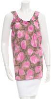 Marni Sleeveless Printed Top