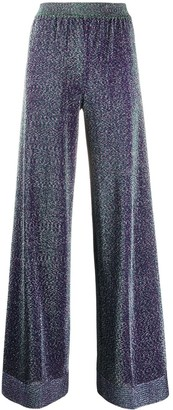 Missoni High-Rise Wide-Leg Knit Trousers