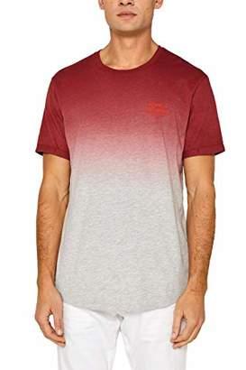 Esprit edc by Men's 059cc2k008 T-Shirt, (Bright Blue 410), XX-Large