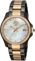 Jivago Women's JV3212W Analog Display Swiss Quartz Two Tone Watch