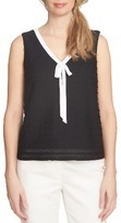 CeCe Women's Textured Knit Tank