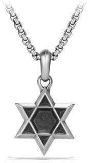 David Yurman Star of David Amulet