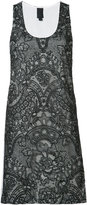 Vera Wang mini tank dress - women - Silk/Cotton/Nylon - 0