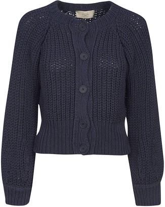 Maison Flaneur Knit Buttoned Cardigan