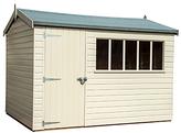Crane 1.8 x 3m Balmoral Garden Shed, FSC-certified (Scandinavian Redwood)