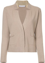 Fabiana Filippi notched detail cardigan