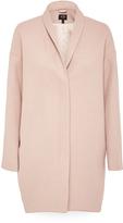 Oxford Twiggy Zip Front Coat Nude X