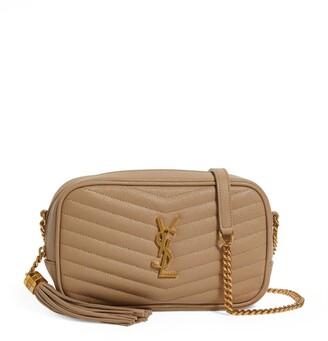 Saint Laurent Mini Lou Matelasse Cross-Body Bag
