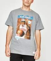 Mitchell & Ness Nba Draft Day Allen Iversion T-shirt Grey Marle