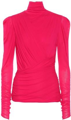 Isabel Marant Jalford turtleneck blouse