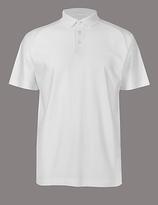 Autograph Supima® Cotton Textured Polo Shirt