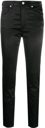 Love Moschino Satin Skinny Trousers