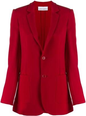RED Valentino Single-Breasted Blazer