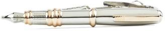 Pen Silver Tie Bar