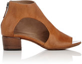 Marsèll Women's Asymmetric-Cutout Leather Ankle Boots