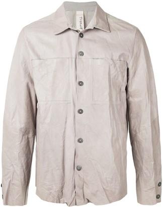 Transit Leather Shirt Jacket