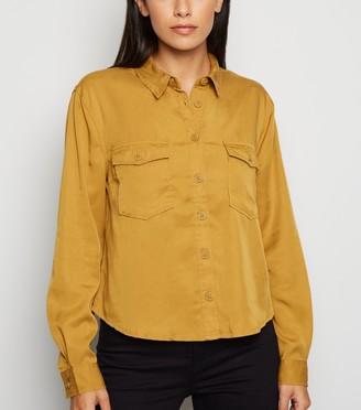 New Look Long Sleeve Utility Shirt