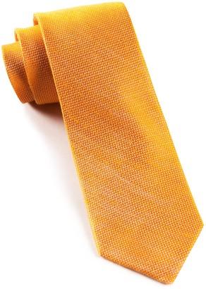 The Tie BarThe Tie Bar Tangerine Solid Linen Tie