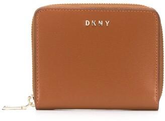 DKNY Bryant zip-around leather wallet