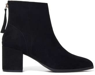 Forever New Cassie Pointed Block Heel Boots - Black - 38