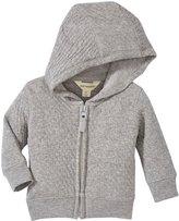 Burt's Bees Baby Quilted Jacket (Baby) - Heather Grey-Newborn