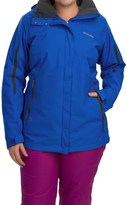 Columbia Bugaboo Interchange Omni-Heat® Jacket - Waterproof, 3-in-1 (For Plus Size Women)