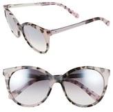 Kate Spade 'amayas' 53mm Cat Eye Sunglasses