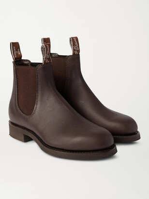 R.M. Williams R.M.Williams Gardener Whole-Cut Leather Chelsea Boots