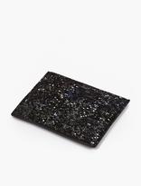 Maison Margiela Black Mosaic Leather Cardholder