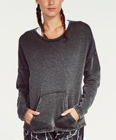 Soffe Black Throwback Sweatshirt