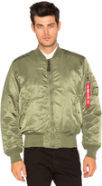 Alpha Industries MA 1 Blood Chit Bomber Jacket
