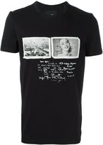Blood Brother stylised print T-shirt - men - Cotton - XS