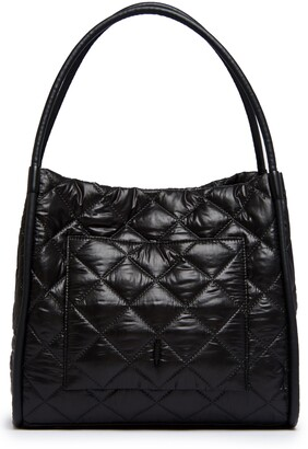 THACKER Tery Diamond Quilted Nylon Tote