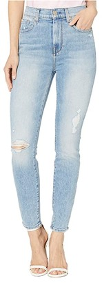 7 For All Mankind High-Waist Ankle Skinny in Vail