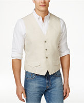 Tasso Elba Men's Big & Tall Linen Vest, Only at Macy's