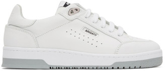 Axel Arigato White and Grey Clean 180 Sneakers