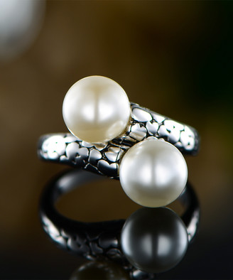 Mother of Pearl Ben Stacy Women's Rings Silver/White - Mother-of-Pearl & Sterling Silver Ring
