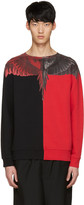 Marcelo Burlon County of Milan Red Paz Pullover