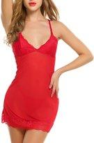 Avidlove Women Chemises Sexy Lingerie Babydoll Sleepwear Strappy lace Dress