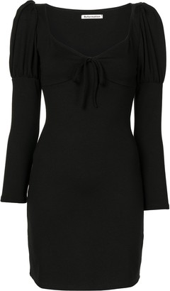 Reformation Helga fitted mini dress