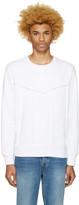 Diesel White S-Capitan Sweatshirt