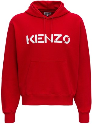 Kenzo Hoodie With Contrasting Logo