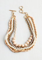 Ana Accessories Inc Yes You Glam Necklace in Blush