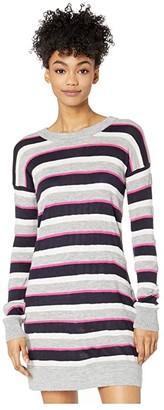 BB Dakota Striped Sweater Dress (Multi Stripe) Women's Dress
